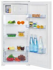 Bomann Einbaukühlschrank A++ 122 cm Höhe mit Gefrierfach LED Schleppscharnier
