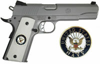 1911 Colt Full Size & Clones With US Air Force Set In Light Ivory Polymer Grips