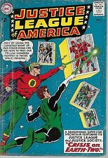 """Dc (1963) Justice League Of America #22 - """"Crisis on Earth-Two!"""" - 2.5 Gd+"""