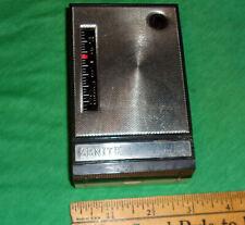 Zenith Royal 185 Vintage 8-Transistor Radio 1960 WORKS! Dial Stuck L@@K! Parts!