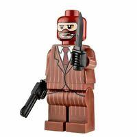 Custom Printed THE SPY Lego Minifigure -Genuine Lego -NEW-