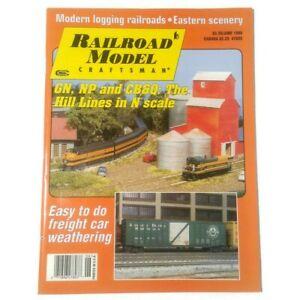 Railroad Model Craftsman magazine June 1999 Vintage