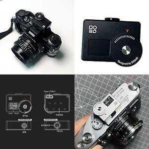 DOOMO METER S Hot Shoe Light Meter Single Reverse OLED Rangefinder For Leica