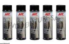 5 Bombes anti-gravillon noir, auto, carrosserie, blackson, spray APP BVDPEINTURE