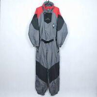HOLIDAY Mens Grey Festival Snowsuit Ski Suit One Piece Snowboarding SIZE Large