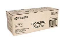 Original Kyocera TK-820C Toner Cyan 1t02hpceu0 A-Ware