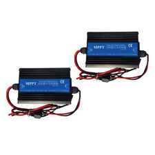 2x MPPT Boost Solar Charge Controller 24/36/48/60/72V 12V 24V Auto work with LCD
