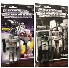 Super7 Reaction Target Exclusive Transformers Optimus Prime & Megatron Lot