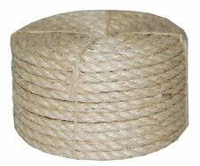 T.W . Evans Cordage 23-410 3/8-Inch by 100-Feet Twisted Sisal Rope....NEW
