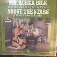 MR.ACKER BILK LP..ABOVE THE STARS..NEAR MINT COPY..ATCO 1962 ..333-144