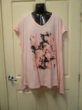 """AUTOGRAPH PINK """"ROSE PRINT"""" TOP-SIZE 20-NWT STUNNING & DRESSY JUST IN!!"""