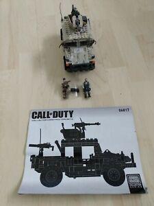 Mega Bloks Call Of Duty Light Armor Firebase Model 06817 - pre-owned