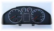 D Audi A4 B5 Chrom Tachoringe - Edelstahl poliert 5 teilig