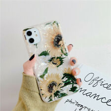 Case For iPhone 11 XS Max XR 7 6s + Shockproof Floral TPU Soft Phone Cover Shell