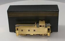 Division Point S Scale BRASS D&RGW 01400 Class Caboose - Unpainted EX/Box