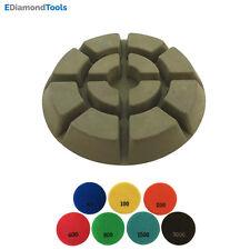 """3"""" Dry Diamond Resin Bond Polishing Pads 3pc of #50 100 200 400 800 1500 3000"""
