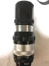Nikkor-Q 20CM F4 Non-AI Lens--Excellent-- SN 215444--1961s First 200MM Edition