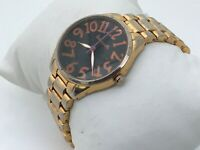 Betseyville by Betsey Johnson Women Watch Gold Tone Analog Wrist Watch Japan Mov