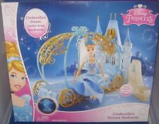 DISNEY  PRINCESS CINDERELLA COLLECTOR DREAM BEDROOM PLAYSET W/ACCESSORIES, NRFB