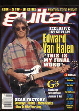 "Guitar Magazine January 1997 Edward Van Halen ""My Final Word"""