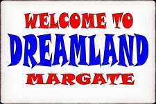 Dreamland Margate  Vintage Style Sign  Funfair Ride   Vintage Fairground Sign
