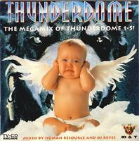 THUNDERDOME = THE MEGAMIX 1-5 = Rob/TnT/Neophyte/Gee/Mental..=CD=HARDCORE GABBER