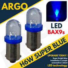 2X CITROEN C4 GRAND PICASSO H6W BAX9S FRONT SIDELIGHT 1 LED BULBS XENON BLUE