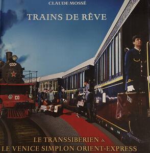 Trains de rêve Le Transibérien et le Venice Simplon Orient-Express (1DVD)