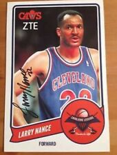 Larry Nance Cleveland Cavaliers Autographed 6.5x8.5 Photo