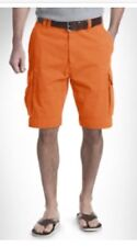 NWT Polo Ralph Lauren Gellar Fatigue Cargo Short Orange Bedford Size 33 $90