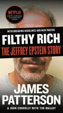 FILTHY RICH : The Jeffrey Epstein Story by Patterson, James (2020, Paperback)