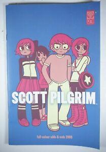 Scott Pilgrim Full Color Odds & Ends 2008 Bryan Lee O'Malley Comic Oni Press