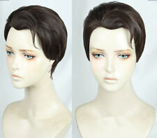 NEW Detroit Become Connor Wig Short Cosplay Costume Wigs HH.590