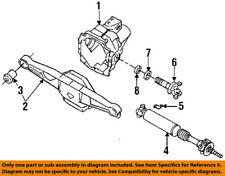 Dodge CHRYSLER OEM 92-02 Viper Rear Suspension-Axle Assembly Clamp 4428723