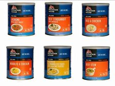 BEST SELLING Meals #10 Cans Mountain House Freeze Dried Food - 6 Cans NEW!