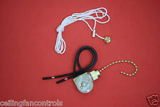 UNIVERSAL Ceiling Fan Light Pull Chain Switch High Quality UL listed BRASS