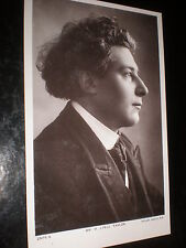 Old postcard music orchestra conductor H Lyell Taylor Rotary Photographic 1900s