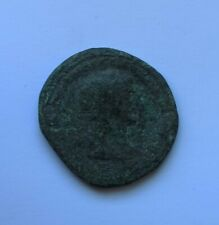 ANCIENT ROMAN BRONZE COIN OF EMPEROR TRAJAN /98-117 AD/