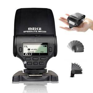 MK320 Mini Speedlite Light TTL Flash Fr Sony A7 R S A6500 A6300 A6000 A5000