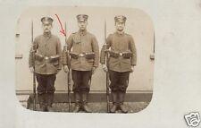20348/ Originalfoto 9x13cm, Soldaten Landst. Inf. Batl. Göttingen, Bajonett,1914