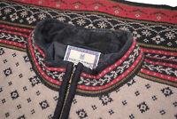 Dale of Norway Wool Women's Sweater Size Medium in Tan w/ Black & Red
