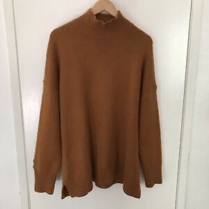 GAP Mock Turtleneck Sweater Brown Size XL