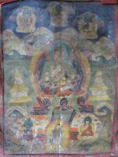 Grand Thangka du Népal, Vajrasattva