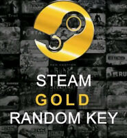 5 Premium Gold Random Steam Keys PC (Global ~ Region Free)