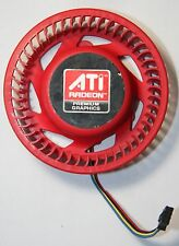 ATI Power Color Sapphire 5870 Video Card 75mm Red Fan 37mm Mounting 4pin