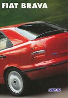 Fiat Brava Prospekt 1995 11/95 brochure Autoprospekt Broschüre prospetto catalog