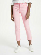 RRP £230 - J Brand Ruby High Rise Cropped Jeans, Blossom Pink, W25 UK 8