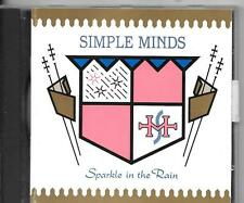 CD ALBUM 10 TITRES--SIMPLE MINDS--SPARKLE IN THE RAIN--1983