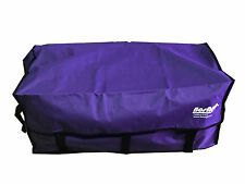 PURPLE VELCRO HAY BALE BAG Carry Storage Water Ski Wake Board Camping Horse Ridi