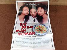 1994 Eat Drink Man Woman Original Movie House Full Sheet Poster